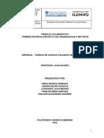 Primera Entrega Proyecto de Organizacion y Metodos (1)