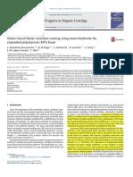 Water-based flame retardant coating using nano-boehmite for expanded polystyrene (EPS) foam.pdf