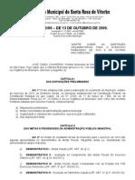 LEI N°3452 de 2010 - LDO 2010-2013