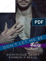 Dont Let Me Be Yours - Kimberly Reese