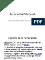Perforación Petrolera I (
