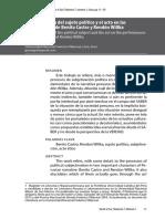 Pérez, Julián - La constitución del sujeto político y el acto en las performances de Benito Castro y Rendon Willka.pdf