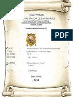 Telecomunicaciones Informe Final 3