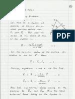 classical mechanics notes 2