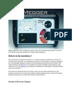 Megger MIT1020 10