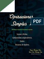 Ajedrez operaciones simples