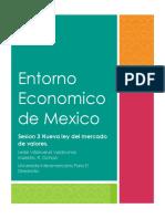 Entorno Economico de Mexico Sesion 3
