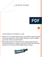 Pompa Ulir (Screw Pump) Ppt
