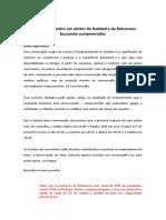 Conversações entre um eleitor de Haddad e de Bolsonaro- buscando compreensões