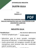 Industri Gula (Yandri)