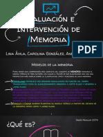Presentación Memoria