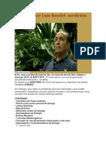 El Dr. José Luis Baudet Medicina Cuántica