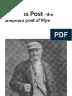 Thomas Post the Shepherd Poet of Wye