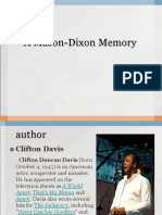 A Mason-Dixon Memory