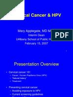 CervicalCancer HPV Feb07