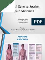 Acute Abdomen Dr.liza