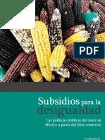 Subsidios Para La Desigualdad