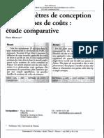 Mevellec Couts / UE 2.3 Analyse de la performance globale (I.A.E Bordeaux M 2 DFCGAI)