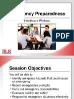 Emergency Preparedness Healthcare Workers