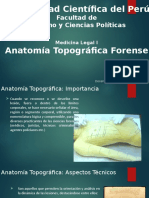Clase 02 ML-I Anatomía Topográfica Forense
