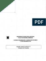 Organización y Conducción de Obras