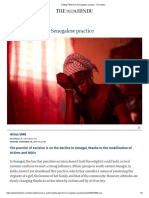 Cutting FGM From Senegalese Practice