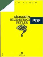 Sinan Canan - Kimsenin Bilemeyeceği Şeyler.pdf