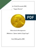 Premio nobel de economía - Angus Deaton