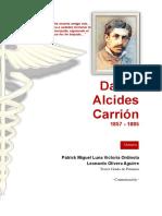 Daniel Alcides Carrión Informe