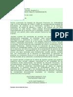 2.5 Modelo de Dictamen Con Salvedad en Inventarios