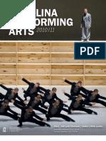 Carolina Performing Arts Program Book 2