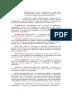 Diccionario ecológico (A)