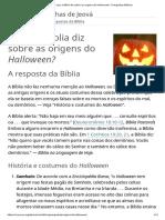 O Que a Bíblia Diz Sobre as Origens Do Halloween_ _ Perguntas Bíblicas