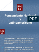 Pensamiento Nacional Por Francisco Pestanha 2018