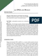 Stoneking MtDNA Review