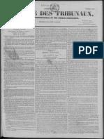 Gazette Des Tribunaux 2_affaire Douillard-Mahaudière