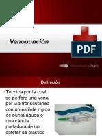 Venopunción y Venodiseccion