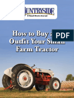 How to BBuy and Outfit Your Small Farm Tractor