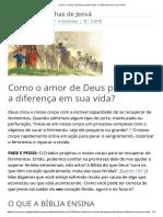 Como o Amor de Deus Pode Fazer a Diferença Em Sua Vida