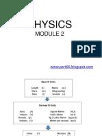 Module 2 Physics