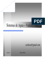 Validaciones Sistema Agua Purificada