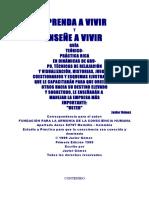 Gomez Javier - Aprenda A Vivir Y Enseñe A Vivir.DOC