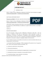 LEI Nº 16.642 - Código de obras SP.pdf