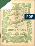 Urbanidad Para Niños (Solano-1927)