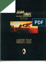 Last Unicorn Games - Star Trek Rpg - Tng - Narrators Toolkit