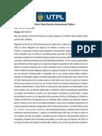 Trabajo Extra Clase Derecho Internacional Público