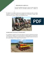 Implementos Agricola
