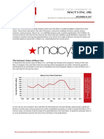 Macys Intrinsic Value