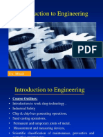 Intro to Engineering