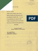 Angelo Meola Pro JFK Letter
